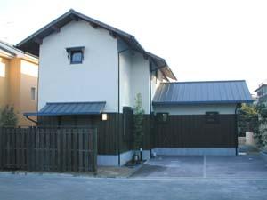 南生駒の住宅